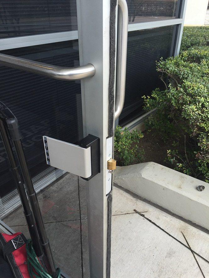 Push Bar Installation